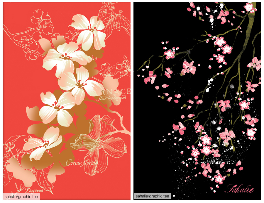 WEBPAGE.Tees.dogwood.blossoms.2up.900pixW